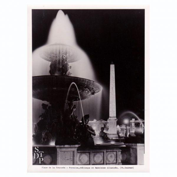 La Concorde illuminée Circa 1950 - STDP 1108-9 vue 0