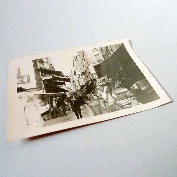 Marché de la rue Mouffetard Circa 1960 - 1022-1 STDP 1
