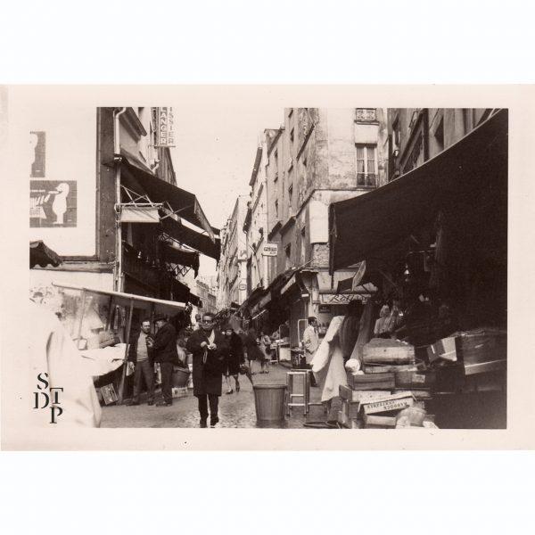Marché de la rue Mouffetard Circa 1960 - 1022-1 STDP vue 0