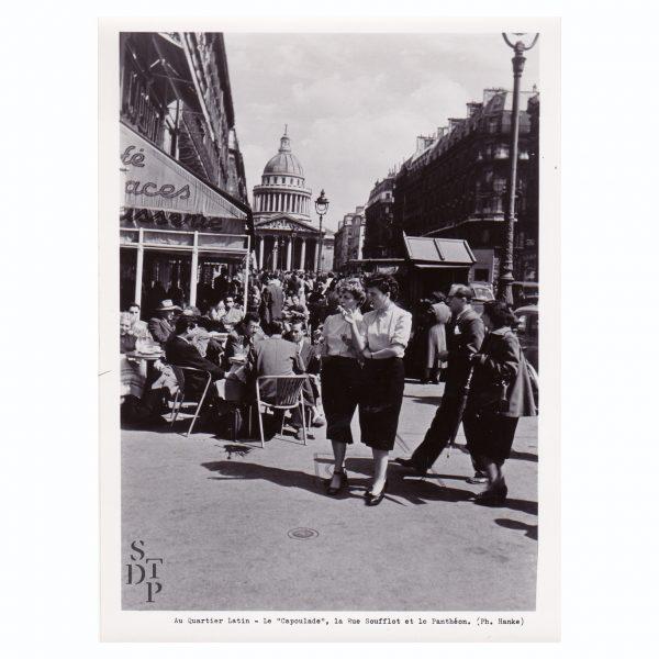 Café Capoulade au Quartier Latin Circa 1950 - STDP 1108-13 vue 0
