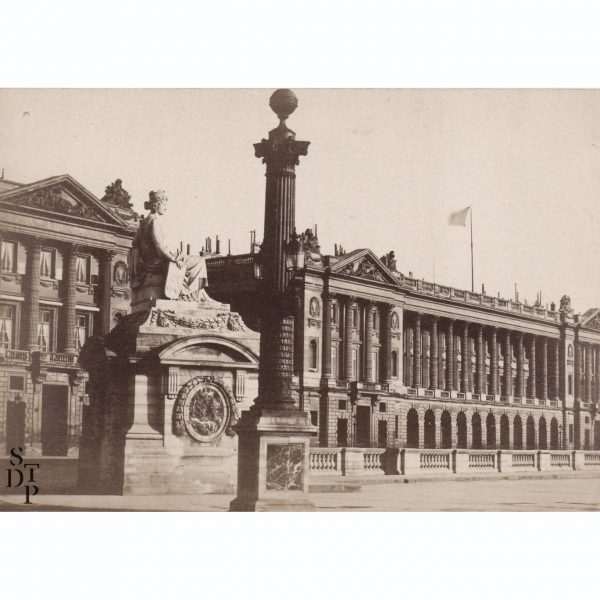 Hôtel de la Marine - Tirage albuminé Circa 1880 - STDP 976 vue 0