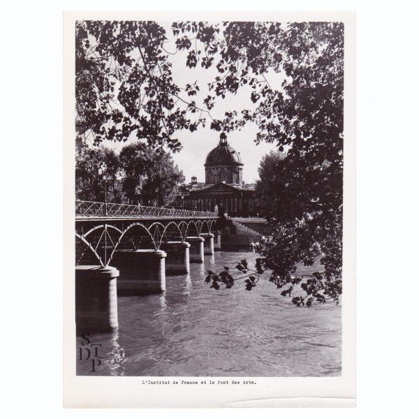 L'Institut de France et le Pont des Arts Circa 1950 - STDP 1108-2 Vue 0