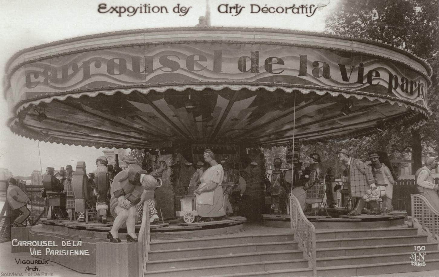 a55869f6ff2e L étonnant Carrousel de la Vie Parisienne - Souviens Toi De Paris    Souviens Toi De Paris