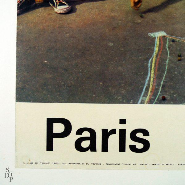 Affiche Paris par I. Bandy - Circa 1960 vue 2 STDP 934