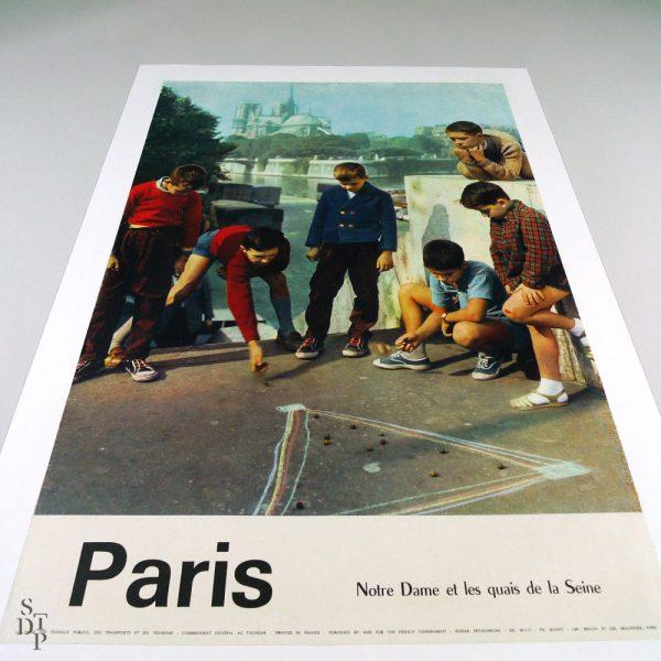 Affiche Paris par I. Bandy - Circa 1960 vue 4 STDP 934