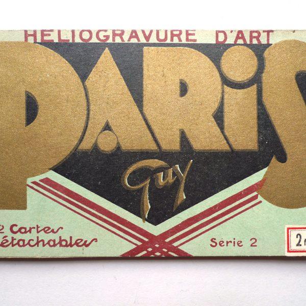 Carnet de cartes postales, Editions Guy - Série 2, Ca 1930 vue 0