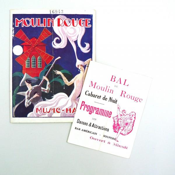 Souviens Toi De Paris Programme Moulin Rouge, E. Halouze - Circa 1925 STDP 984 vue 3