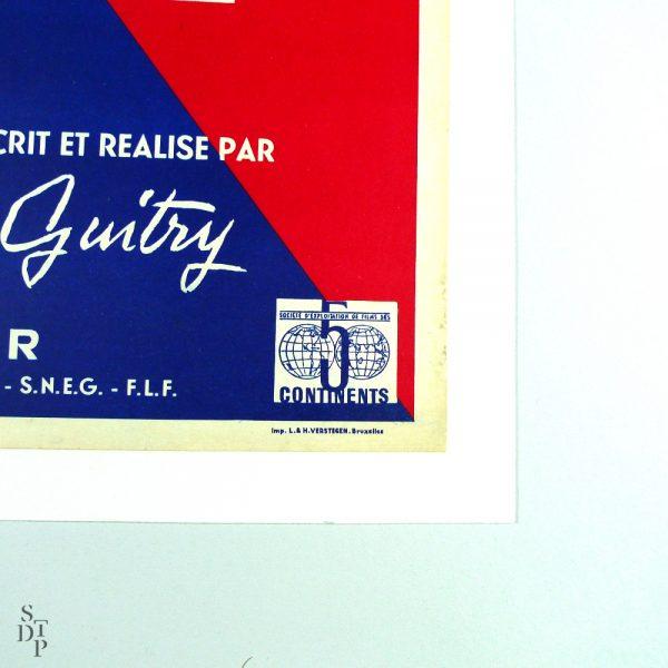 si-paris-nous-etat-conte-s-guitry-affiche-1955 STDP 871 vue 4
