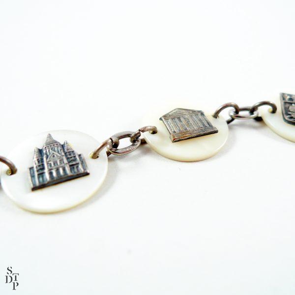Bracelet nacre Ca 1940 - STDP 1028 vue 1c
