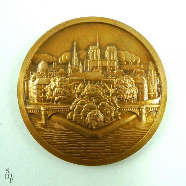 L'Ile de la Cité et Notre-Dame, P. Turin - 1927 STDP 1043 vue 2