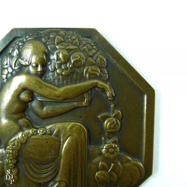 Médaille de l'Expo des Arts Décoratifs, P. Turin Paris 1925 - STDP 1092 vue 3