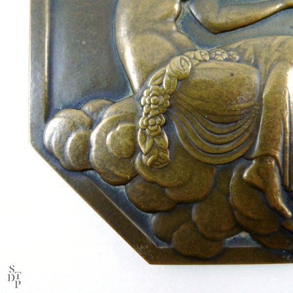 Médaille de l'Expo des Arts Décoratifs, P. Turin Paris 1925 - STDP 1092 vue 4
