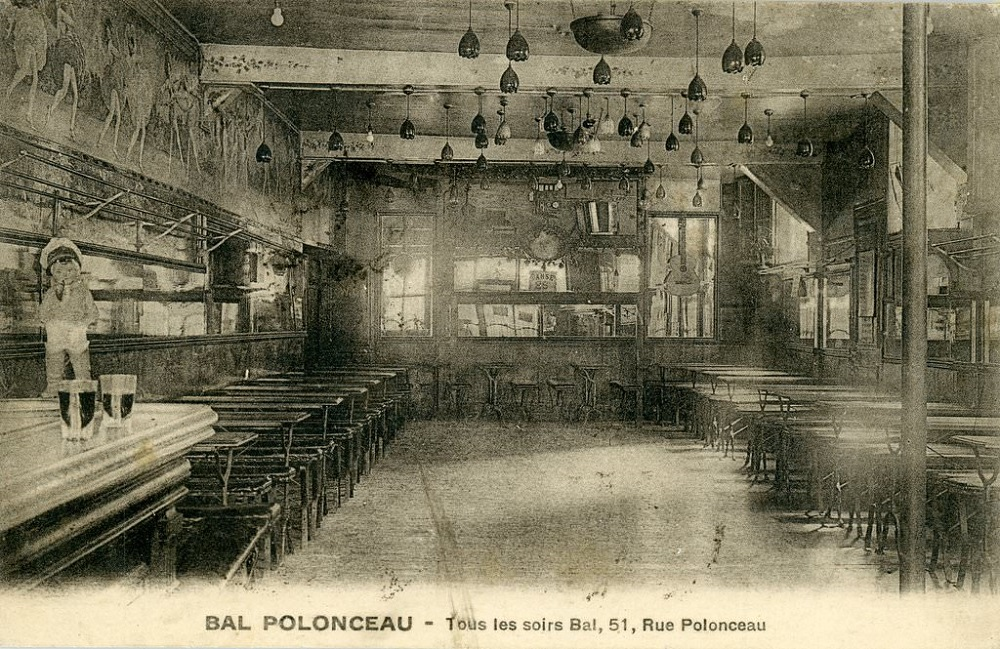 Tournée des Grands-Ducs le Bal Polonceau Paris 18eme