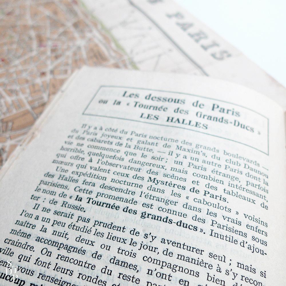 Guide des Plaisirs à Paris ca 1925 Souviens Toi De Paris