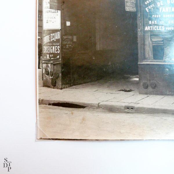 Le Peintre Eclair Enseignes vers 1910 rue Saint Martin STDP vue 1