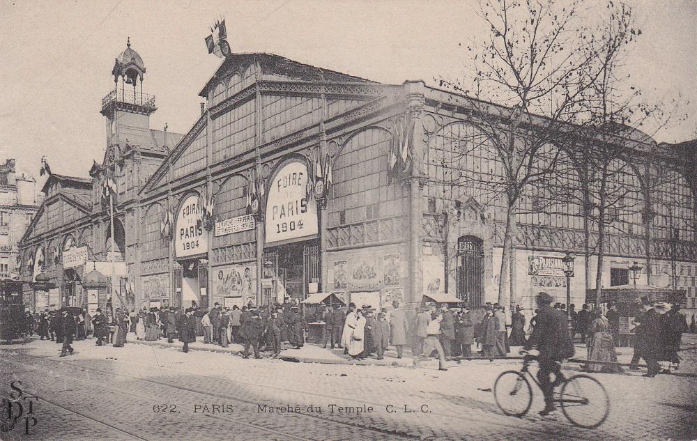 Marché du Carreau du Temple Foire de Paris 1904 Souviens Toi De Paris