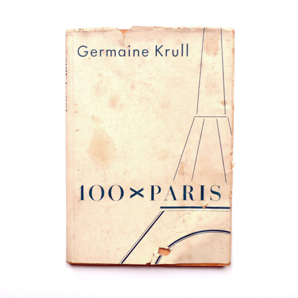 100 x Paris de Germaine Krull - 1929 Souviens Toi De Paris vue 0 Livre ancien Paris vintage