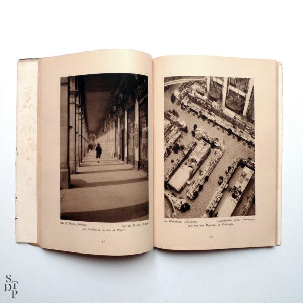 100 x Paris de Germaine Krull - 1929 Souviens Toi De Paris vue 2 Livre ancien Paris vintage