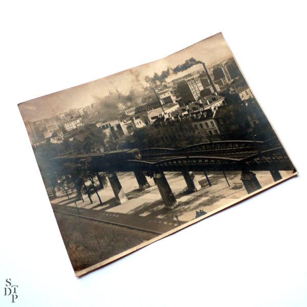 Métro aérien boulevard Auguste-Blanqui vers le 88 Circa 1920 Souviens Toi De Paris vue 2 photo ancienne