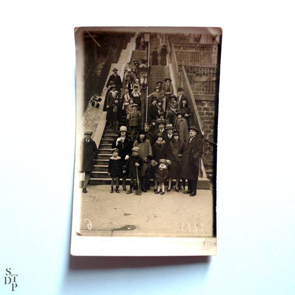 Escaliers de Montmartre François Gabriel Circa 1920 Souviens Toi De Paris vue 1