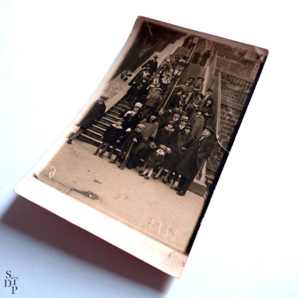 Escaliers de Montmartre François Gabriel Circa 1920 Souviens Toi De Paris vue 2