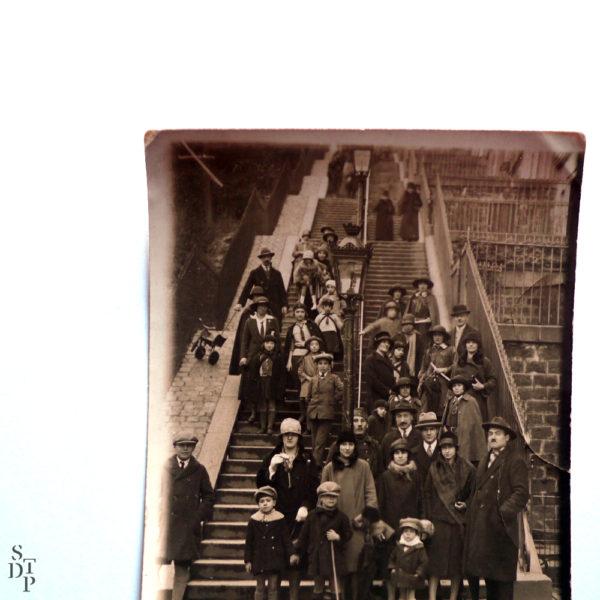 Escaliers de Montmartre François Gabriel Circa 1920 Souviens Toi De Paris vue 3