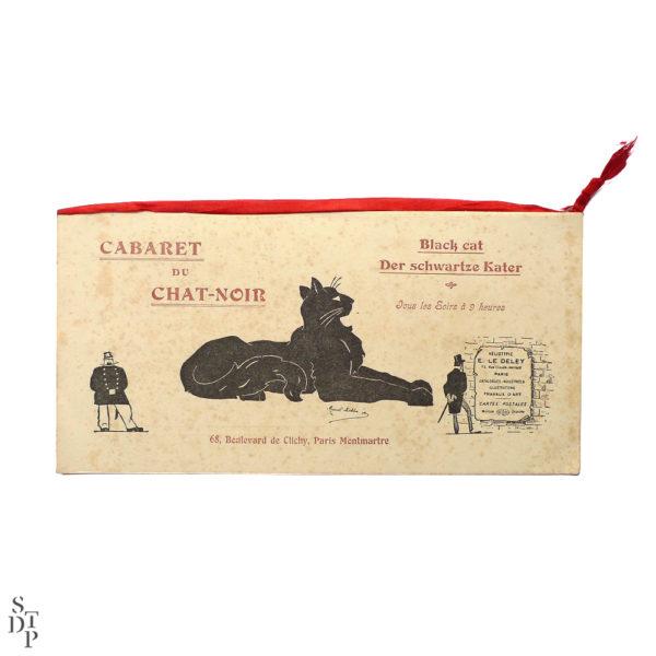 Ancien programme du Caveau du Chat Noir 1914 vue 3 Souviens Toi De Paris Montmartre vintage