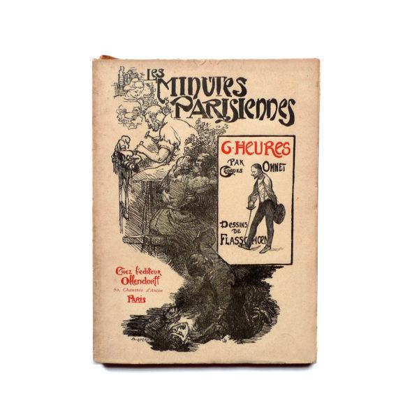 Les minutes parisiennes - 6h la salle d'armes, G. Ohnet - 1902 Souviens Toi De Paris vue 0 livre ancien