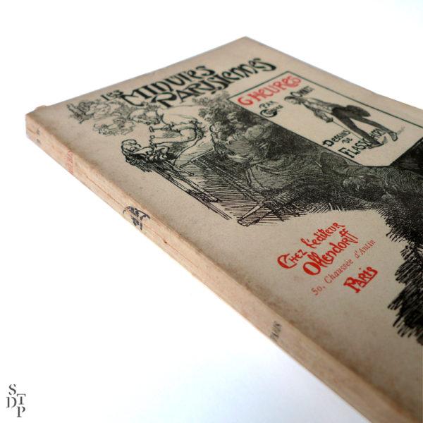 Les minutes parisiennes - 6h la salle d'armes, G. Ohnet - 1902 Souviens Toi De Paris vue 1 livre ancien