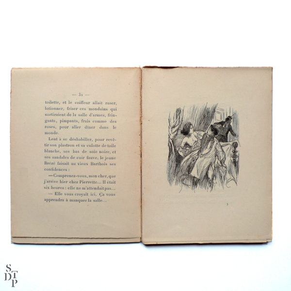 Les minutes parisiennes - 6h la salle d'armes, G. Ohnet - 1902 Souviens Toi De Paris vue 2 livre ancien