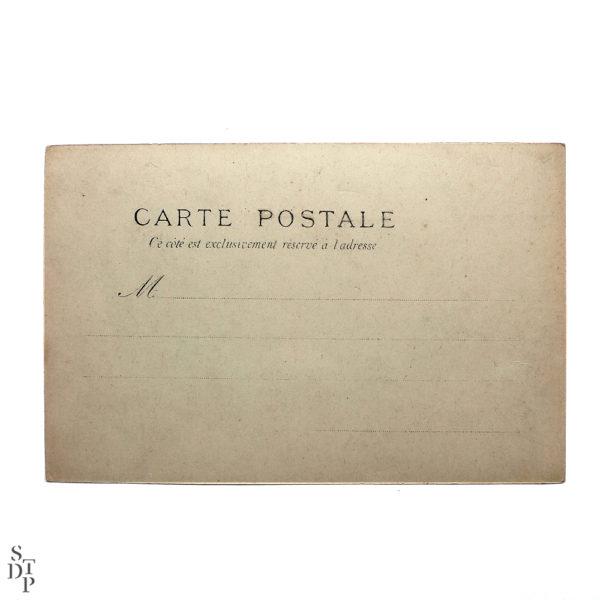 L'illustré intéressant Carte postale ancienne kiosque parisien Souviens Toi De Paris vue 3 Paris Vintage