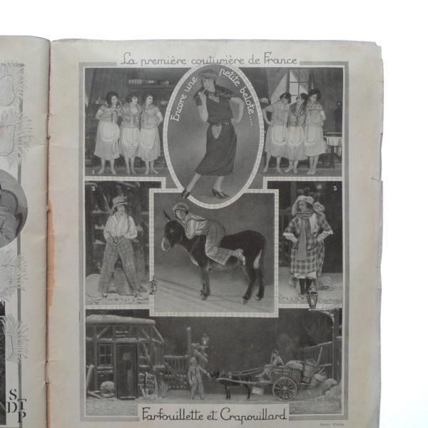 Bonjour Paris Mistinguett - Programme du Casino de Paris par C. Gesmar - 1925 Souviens Toi De Paris vue 6 Paris vintage