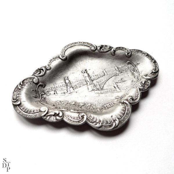 Coupelle vide poche Pont Alexandre III 1900 Souviens Toi De Paris vue 1 Paris vintage souvenir