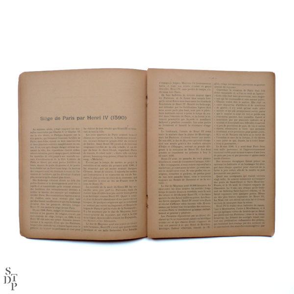 Les sièges mémorables de Paris A Mercier 1900 Souviens Toi De Paris vue 1 Livre ancien