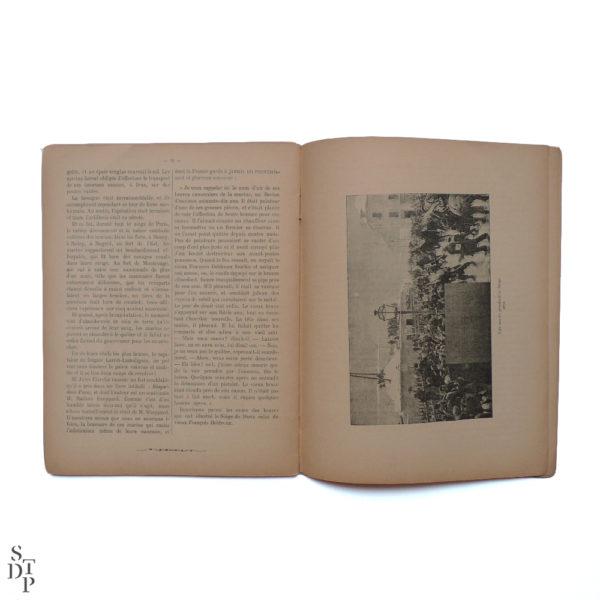 Les sièges mémorables de Paris A Mercier 1900 Souviens Toi De Paris vue 2 Livre ancien