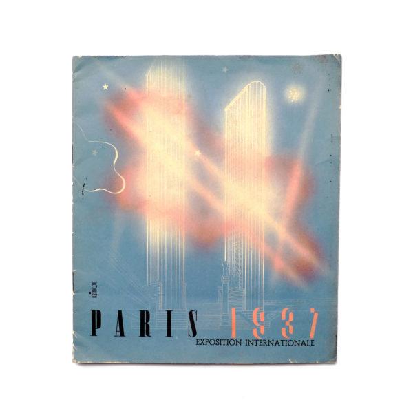 Programme Exposition Internationale de Paris 1937 Souviens Toi De Paris vue 0 Paris vintage A Simon