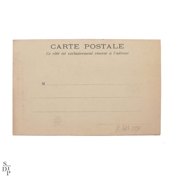 Une sortie du Métropolitain Paris Vécu CPA - 1904 Souviens Toi De Paris vue 3 Carte Postale Ancienne