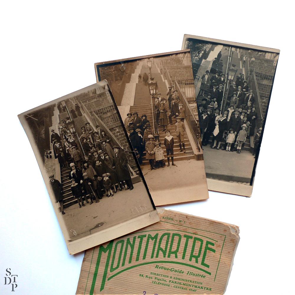 Photographie ancienne Montmartre François Gabriel roi des photographes de la butte 1 Souviens Toi De Paris vintage