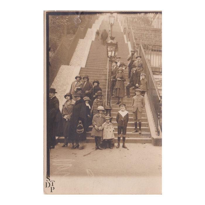 Photographie ancienne Montmartre François Gabriel roi des photographes de la butte 3 Souviens Toi De Paris vintage