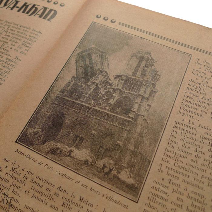 Petit Journal Illustré 22 novembre 1925 prédiction du Fakir Fhakya-Khan destruction de Paris en 1926 Souviens Toi De Paris vue 6