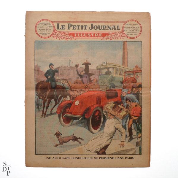 Petit Journal Illustré 22 novembre 1925 prédictions du Fakir Fhakya-Khan destruction de Paris en 1926 Souviens Toi De Paris vue 6