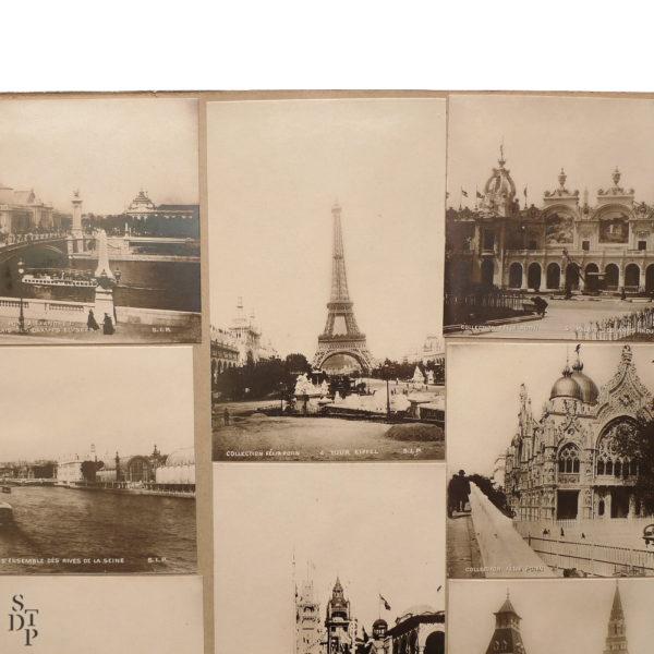 Album photo de l' Exposition Universelle Paris 1900 collection Felix Potin SIP Souviens Toi De Paris vintage souvenir shop vue 4