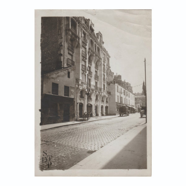 Concours de façades 199 rue de Charenton M Branger 1911 Souviens Toi De Paris vue 0 vintage Paris photo