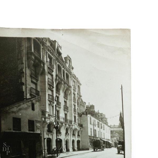 Concours de façades 199 rue de Charenton M Branger 1911 Souviens Toi De Paris vue 2 vintage Paris photo