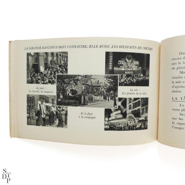 Le chemin de fer metropolitain de Paris 1935 Souviens Toi De Paris vue 4 paris metro