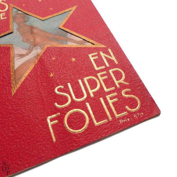 Album revue Super Folies Joséphine Baker aux Folies Bergère Souviens Toi De Paris vintage vue 1
