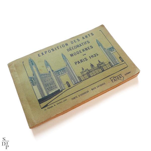 Exposition des Arts Décoratifs Modernes Paris 1925 Patras Souviens Toi De Paris vintage postcard vue 1