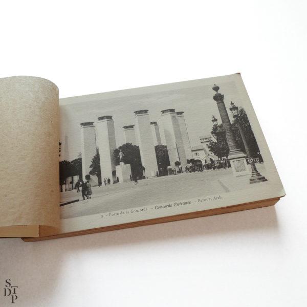 Exposition des Arts Décoratifs Modernes Paris 1925 Patras Souviens Toi De Paris vintage postcard vue