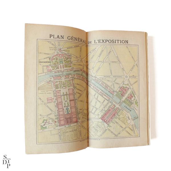 Guide illustré du Bon Marché L'Exposition et Paris 1900 Souviens Toi De Paris vintage vue 3