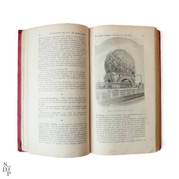 Guide illustré du Bon Marché L'Exposition et Paris 1900 Souviens Toi De Paris vintage vue 4